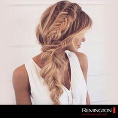 Un peinado fabuloso para lucir súper chic en cualquier ocasión. #hair #hairstyle #cool #woman #fashion