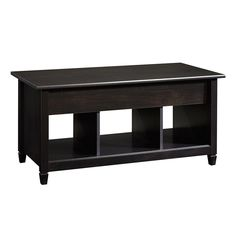 Coffee Table Lift-Top with Shelves Storage Furniture Modern Living Room Wood New #Sauder #Modern