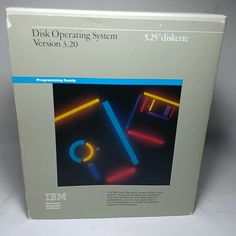 IBM Disk Operating System Version 1986 Release w/ Diskettes & Manual Pc Computer, Operating System, Ibm, Computers, Manual, Learning, Tecnologia, Studying, Teaching
