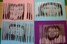 Les portraits Art For Kids, Crafts For Kids, Arts And Crafts, Portrait Photo, Photo Art, Street Art, Ecole Art, Cycle 3, Art Plastique