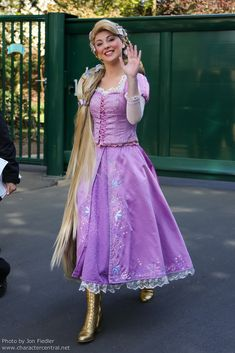Rapunzel at Disney Character Central