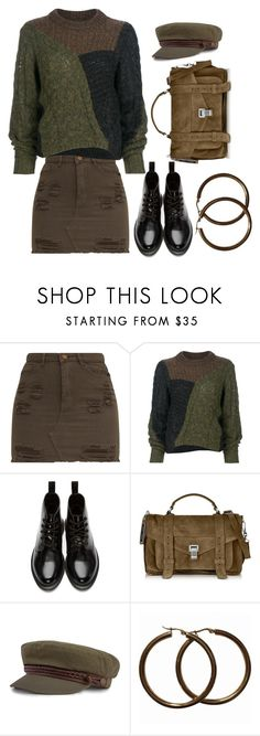 """""""Just an ordinary outfit"""" by buddahbar ❤ liked on Polyvore featuring Étoile Isabel Marant, Dr. Martens, Proenza Schouler and Brixton"""