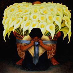 Diego Rivera, The Flower Seller