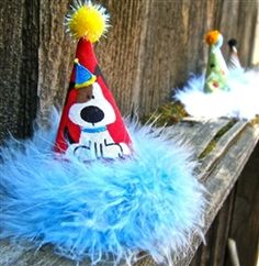82bb10e60cc Pawty Boy Party Hats For 3-6 lb Dogs - Accessories - Hats Posh Puppy  Boutique