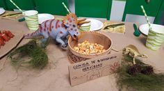Cumpleaños de dinosaurios: maíz para hervíboros