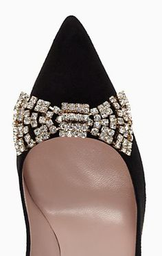 cute crystal bow pumps from Kate Spade http://rstyle.me/n/tqqh2pdpe