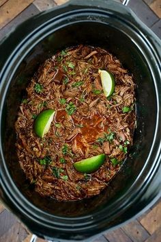Slow Cooker Barbacoa with Vegetable Oil, Boneless Chuck Roast, Low Sodium Beef Broth, Kosher Salt, C Authentic Mexican Recipes, Mexican Food Recipes, Slow Cooker Recipes, Cooking Recipes, Healthy Recipes, Beef Birria Recipe Slow Cooker, Beef In Slow Cooker, Crock Pot Beef, Slow Cooker Tacos
