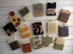 Soap Samples Wedding Favors Mini Soap by BullesetMolecules
