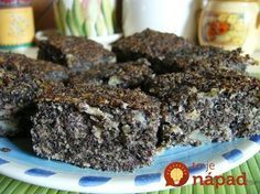 Archívy Recepty - Page 58 of 799 - To je nápad! Healthy Deserts, Healthy Sweets, Healthy Dessert Recipes, Sweet Desserts, Healthy Baking, Raw Food Recipes, Sweet Recipes, Baking Recipes, Raw Carrot Cakes