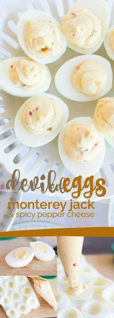 My recipe is for a tried and true classic deviled egg. But, as with many classic recipes, it's just your starting point to get creative! Bread Appetizers, Yummy Appetizers, Appetizer Recipes, Dessert Recipes, Easter Recipes, Egg Recipes, Cooking Recipes, Easter Brunch Menu, Appetizers