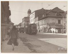 Kraków - Kazimierz. Ulica Krakowska, fot. Eugeniusz Wilczyk (1960)