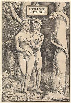Adam and Eve, Hans Baldung, 1511.