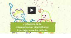 Une jolie vidéo à voir en famille et à l'école pour sensibiliser les enfants à la communication bienveillante. Un message central à diffuser largement !