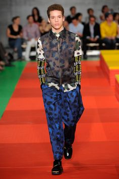 Kenzo SS13 Mens Catwalk Show | F.TAPE | Fashion Directory