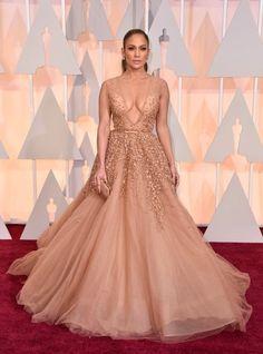 Jennifer Lopez in Elie Saab Couture