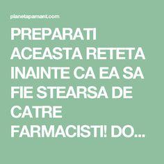 PREPARATI ACEASTA RETETA INAINTE CA EA SA FIE STEARSA DE CATRE FARMACISTI! DOAR 4 LINGURI DIN ACEST AMESTEC SI PUTETI SPUNE ADIO PENTRU TOTDEAUNA HIPERTENSIUNII ARTERIALE SI ARTERELOR INFUNDATE! Mega Decks, Herbal Remedies, Natural Remedies, Lower Blood Sugar, How To Get Rid, Good To Know, Cardio, Herbalism, Health Fitness