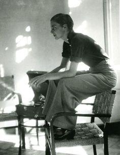 Lisa von Cramm, Berlin, 1934 by Marianne Breslauer, (German 1909-2001)