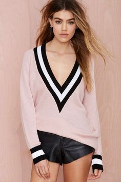 Boys Club Sweater - Pink