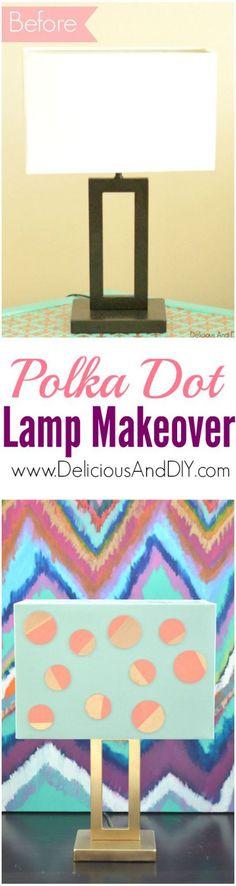Polka Dot Lamp Makeo