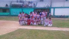Champoton, Campeche.- ( John Rosado/ Liga Champoton ).- En lo que fue la primera jornada del Playoffs Semifinal de la Liga de Beisbol Infant...