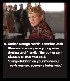 Game of Thrones Facts - I don't even watch game of thrones nor have i read the books but I found this funny.