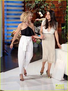 Mila Kunis, Ashton Kutcher, Kristen Bell & Dax Shepard Play 'Never Have We Ever' on 'Ellen' - Watch Now!