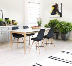 Jedilniški stol KLARUP | JYSK