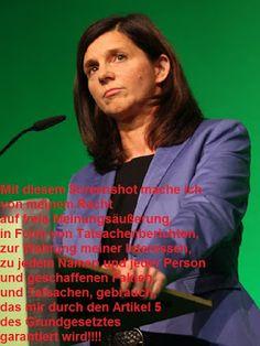 Stephan Bauer: Meine Meinung zu folgender Person: Katrin Göring-E...