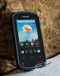 Introducing Monterra: New Garmin Outdoor Handheld with Android OS Technology Gadgets, Tech Gadgets, Cool Gadgets, Noaa Weather Radio, Android Gps, Global Positioning System, Best Camping Gear, Mens Gear, Gadget Gifts