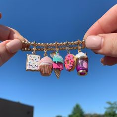 Bottle Charms, Resin Charms, Polymer Clay Charms, Cute Bracelets, Beaded Bracelets, Charm Bracelets, Candy Bracelet, Bracelet Charms, Cute Jewelry