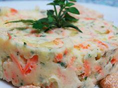 Salada de Maionese C/ Ervas Frescas Especial – Fernanda Quatrocchi | Saladas > Salada de Maionese | Receitas Gshow