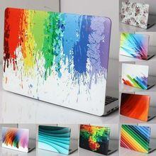 2016 de aceite de impresión de dibujo caso duro del arco iris para apple macbook…