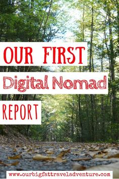 It's been two months since we arrived in Thailand with the goal of creating an online income. Here's our first digital nomad report and earnings summary.