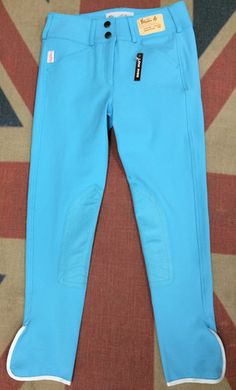 NEW!! Tailored Sportsman Coloured Breeches. They're basically Tiffany Blue and I need them