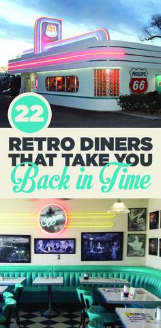 22 Retro Diners die es definitiv wert sind, besucht zu werden auf Euren Rundreisen! Das ist wahrlich Kult und gehört einfach dazu. Lasst es Euch schmecken! :)