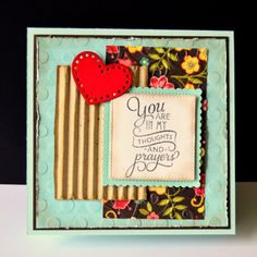 Handmade card by DJRants using the Wonderfully Made stamp set from Verve. #vervestamps #faithstamping