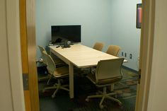 One of the conference rooms at DOM360.