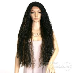 Isis Red Carpet Synthetic Hair Cotton Lace Front Wig - Rcp809 MARIGOLD…