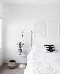 9 Startling Unique Ideas: Minimalist Bedroom Interior Modern minimalist home inspiration plants.Minimalist Home Modern Dining Rooms minimalist bedroom wall color. Minimal Bedroom, Modern Bedroom, White Bedroom, Monochrome Bedroom, Monochrome Interior, Bedroom Brown, Bedroom Neutral, Interior Design Minimalist, Minimalist Home Decor