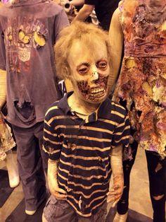 Creepy kid zombie