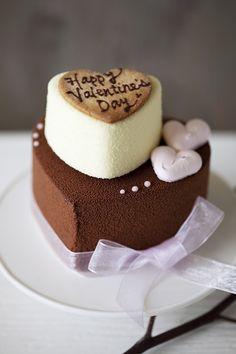 Valentine's Day cake, so sweet