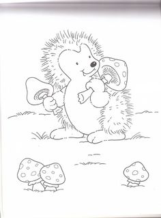 Love Coloring Pages, Colouring Pics, Coloring For Kids, Adult Coloring Pages, Coloring Books, Hedgehog Craft, Cute Hedgehog, Classroom Wall Decor, Blackwork Patterns