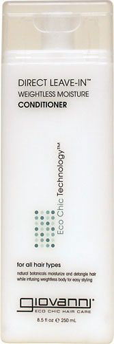 Giovanni Leave-in Conditioner 100% vegetarian ingredients. No artificial fragrance. No dyes. No sulfates. No paraben. No phthalates    http://www.swansonvitamins.com/GV011/ItemDetail