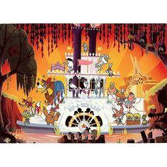 Your WDW Store - Disney Postcard - Wonderful Feeling, Wonderful Day by Chris Lee Song Of The South, Splash Mountain, Magic Kingdom, Disney Art, Feelings, Day, Movie Posters, Dreams, Store