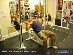 pin by nguya…n trang haeng on smith machine incline bench press