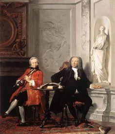 Jeronimus Tonneman and his Son - Cornelis Troost