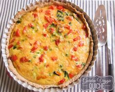 Quiche is such an amazing recipe because it can be enjoyed as a breakfast, brunch, lunch or dinner especially this garden veggie quiche! Quiche Recipes, Brunch Recipes, My Recipes, Breakfast Recipes, Cooking Recipes, Favorite Recipes, Dinner Recipes, Recipies, Breakfast Dishes