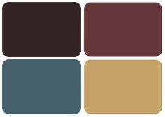 already have blue and brown.  maybe add a champagne or gold color for an accent?