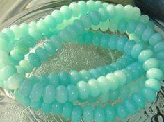 Full Strand Amazonite 8X5mm Smooth Rondelle Gemstone Beads