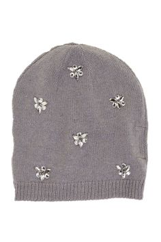 Betsey Johnson Jeweled Beanie by Betsey Johnson on @nordstrom_rack